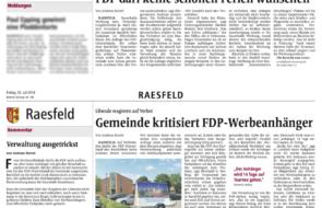 FDP darf keine schönen Ferien wünschen